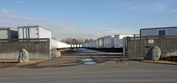 We have large storage lot for all of your storage trailer needs